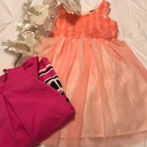 BUNDLE OF TWO GIRL'S DRESSES